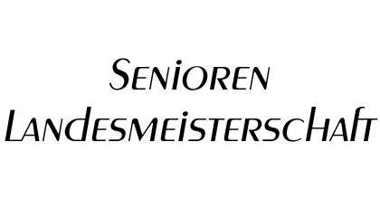 OÖ. Senioren Landesmeisterschaft 2018